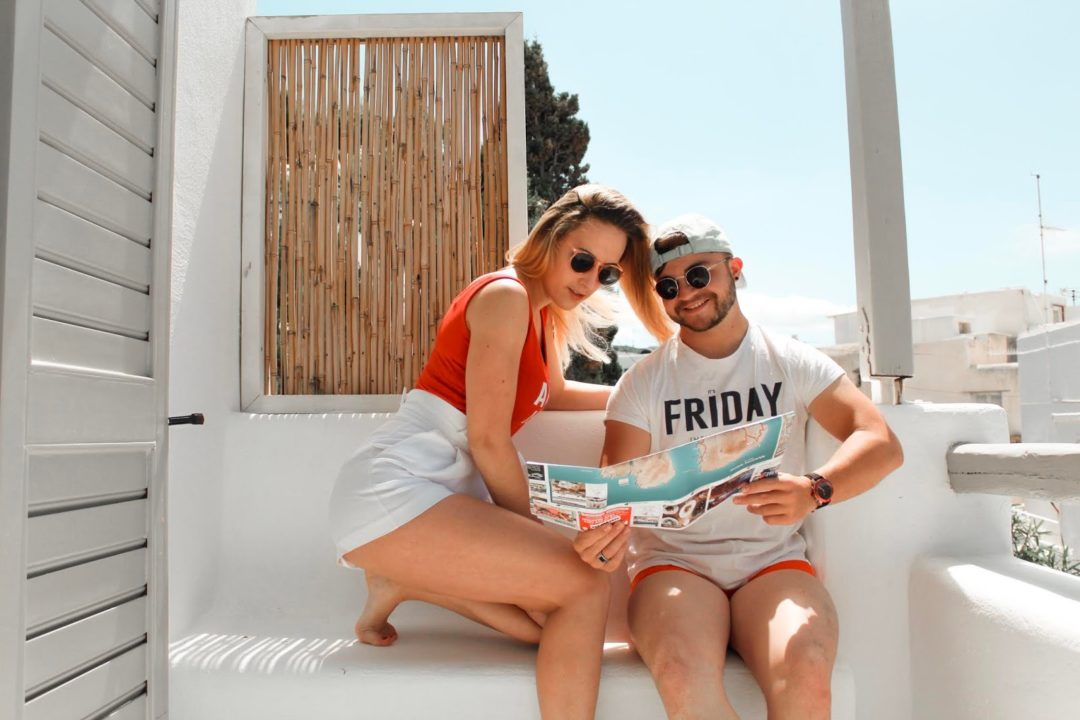 Mykonos Couple